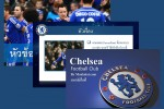 "โหลดฟรี PowerPoint Template ""Chelsea Football Club"""
